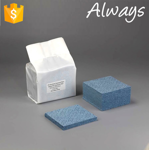 Embossed surface Meltblown Polypropylene nonwoven cleaning nail polish remover wet wipes