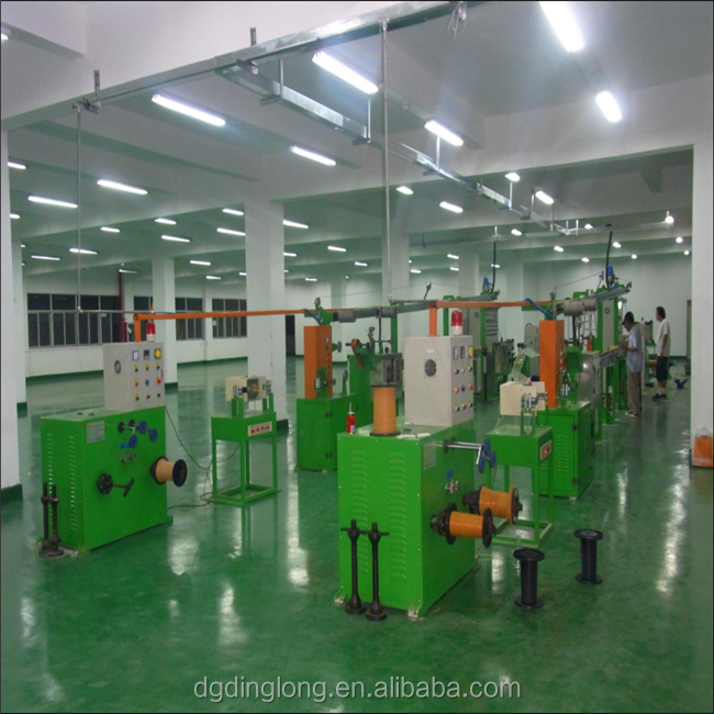 DongGuan DL electric Cable Wire Insulation Making Extrusion Machine