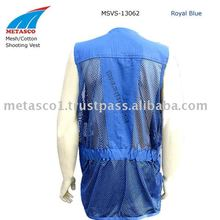 Mesh Shooting Vests, Mesh/Cotton Shooting Vests, Hunting Mesh Vests