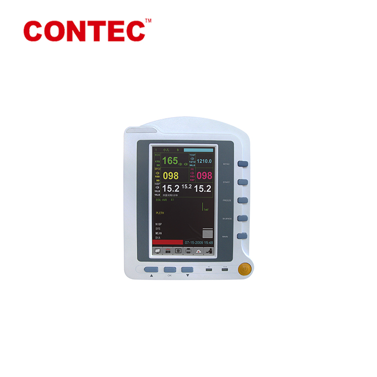 CONTEC CMS6500 touch screen professional multi parameter Compatible Multi-Channnel Patient monitor