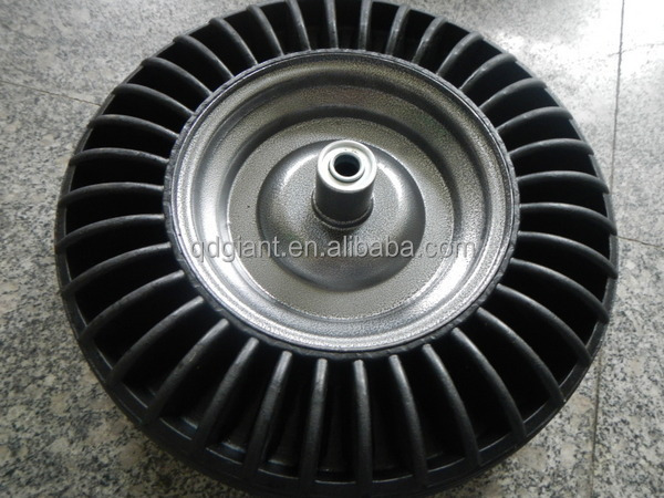 Industry wheelbarrow rubber tyre 3.50-8