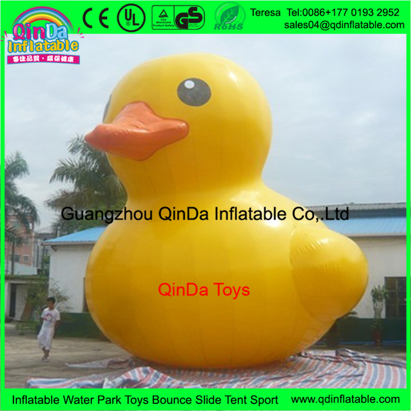 airtight giant inflatable promotion duck fake duck inflatable rubber