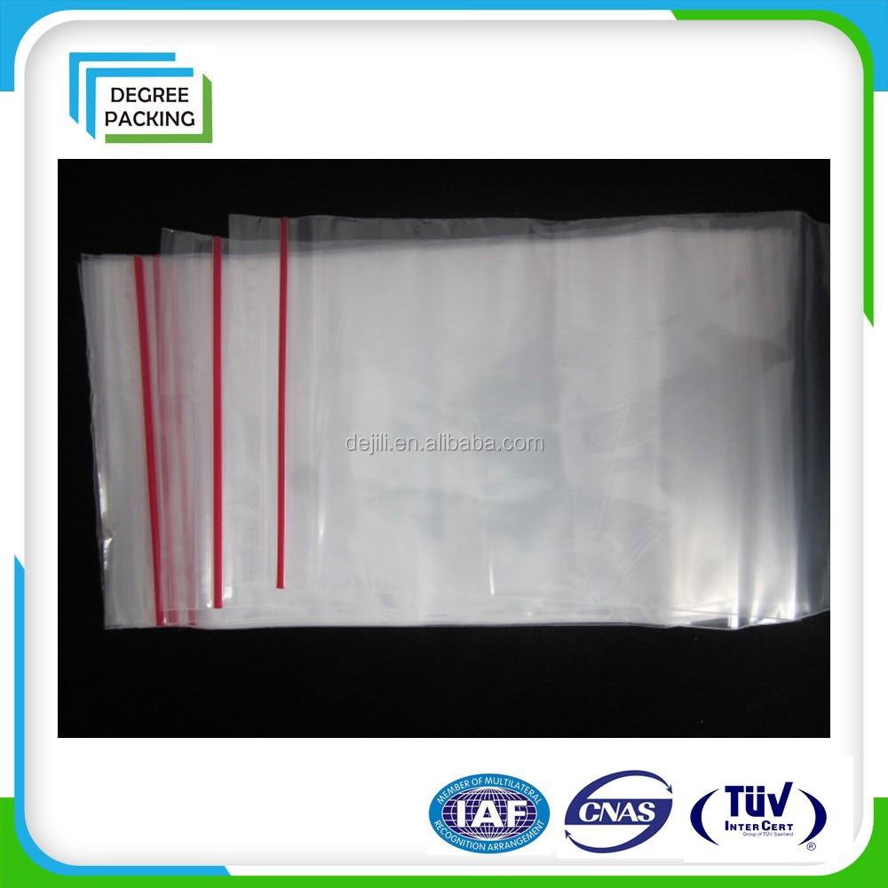 Food Grade Ldpe Recclosable Plastic Zipper Poly Bag - Buy ...