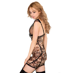 Large in stock wholesale latest design fashion nightwear lingerie sexy babydoll