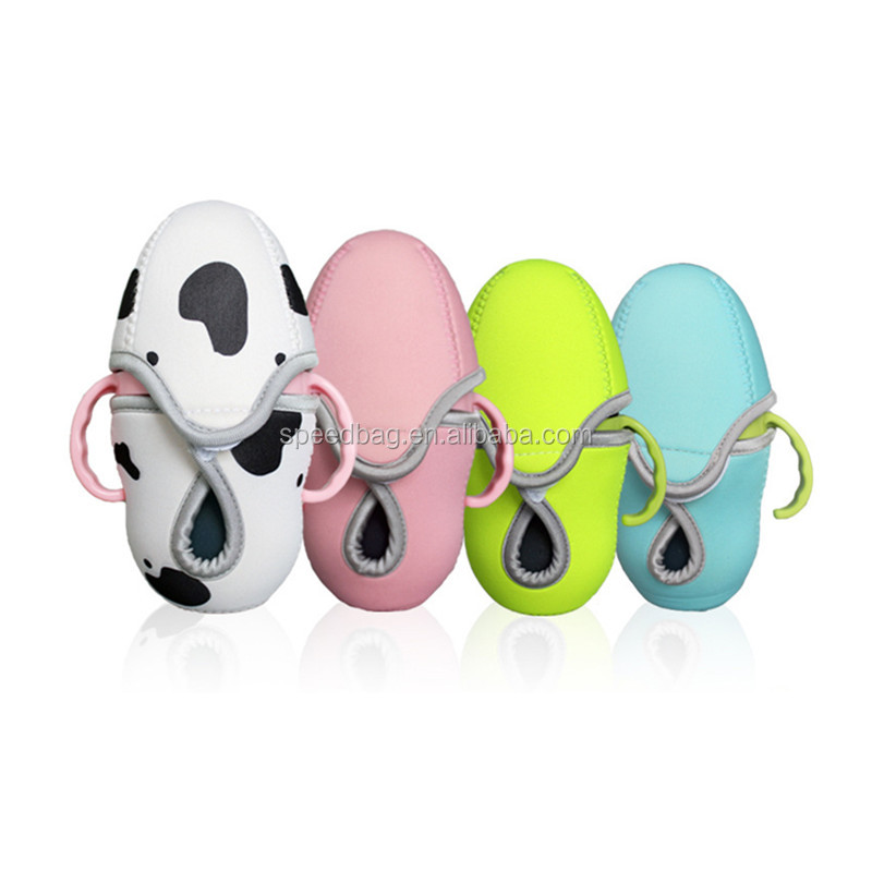 Neoprene Water Bottle Case Insulated Protective Sleeve Compatible With Comotomo Baby Bottles