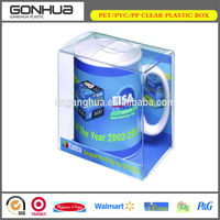 China Supplier accept OEM orders custom birthday present ceramic cup delicate packaging clear plastic small gift box