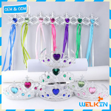 Factory direct sale crown tiara and scepter