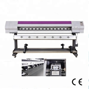 1.8m eco solvent inkjet plotter large format photo copier vinyl sticker printing printer