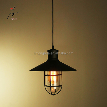 Industrial metal cage pendant lamp diy hanging lampshade edison lamp industrial metal cage pendant lamp diy hanging lampshade edison lamp vintage mozeypictures Image collections