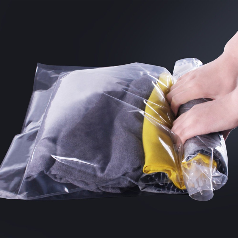 Space Saver Travel Compress Vacuum Roll-Up Storage Bag