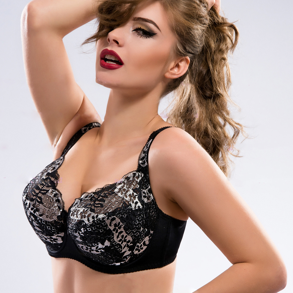 fashionable women sexy mature embroidery lace bra 63308 - buy women