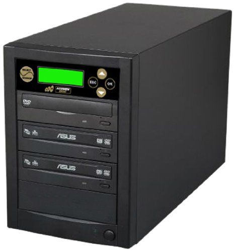 Acumen Disc 1 to 2 Target Discs DVD CD Duplicator Machine with Asus Writers Burners Drives DC02SATASAS