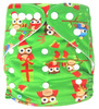AnAnBaby Cartoon Character One Size Fits All Waterproof Honest Sleepy Baby Diaper