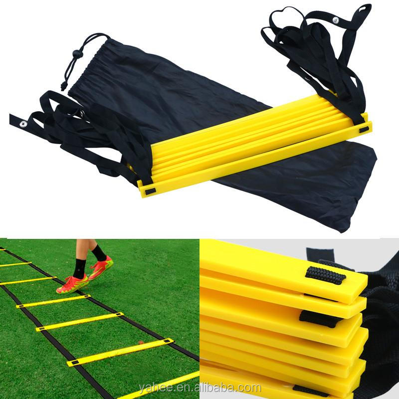 8 Rung Agility Ladder for Speed Football Soccer Fitness Feet Work Training Bag