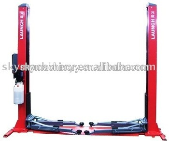 Economical 2 Post Floorplate Cheap Car Lifts For Home