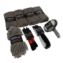 China Autoknight Wasstraat Gereedschap Kit <span class=keywords><strong>Auto</strong></span> Care Cleaning Product <span class=keywords><strong>Set</strong></span> <span class=keywords><strong>Auto</strong></span> Cleaning Kit Microfiber Doek <span class=keywords><strong>Auto</strong></span> Borstel Kit 9 pack