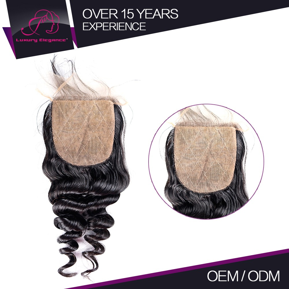 Export Quality 100% Full Cuticle Feather Hair Pieces A Full Lace Toupee Closure