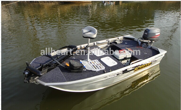 Aluminium Fishing Boat And Bow Mount Trolling Motor