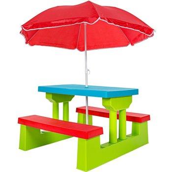 Phenomenal Walmart Kids Multi Colour Picnic Table Outdoor Indoor Bench Set Chair With Umbrella Buy Kids Chair Picnic Table Kids Bench Product On Alibaba Com Creativecarmelina Interior Chair Design Creativecarmelinacom