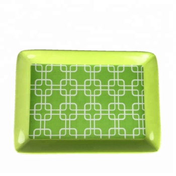 High Quality Food Safe Melamine Serving Tray