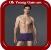 Online shopping underwear for men blank design panties cheap underwear tc fabric
