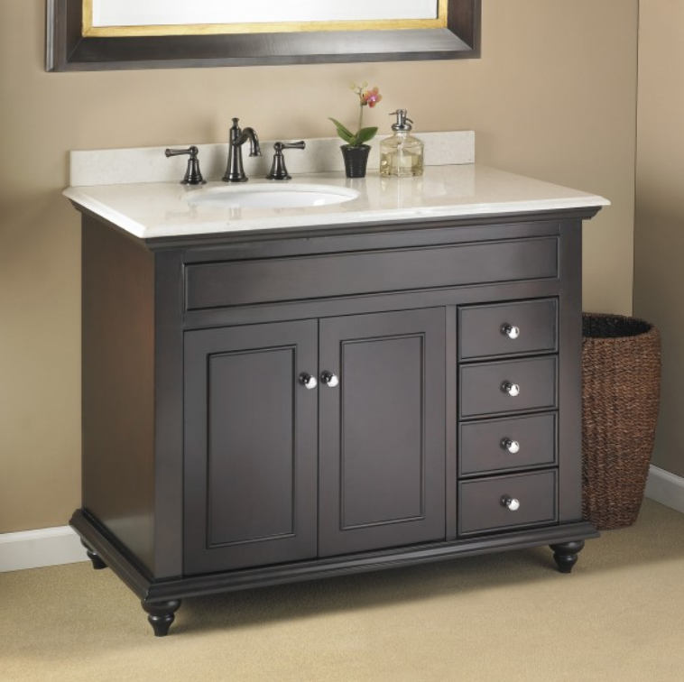 allen vanity elegant kingscote for new and light ideas home bathroom mirrors stylish roth furniture