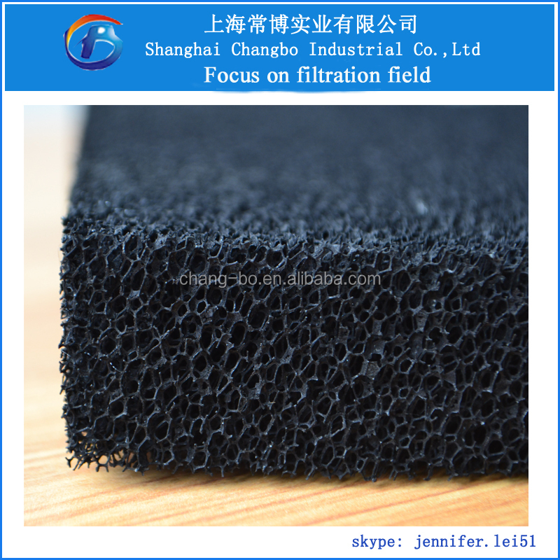 Activated Carbon Filter Sponge For Smoke Absorber/filter Activated ...
