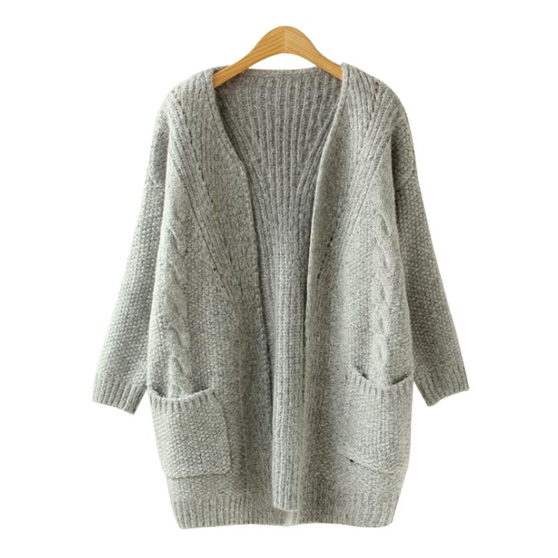 5ec8cdd482f Get Quotations · New 2015 Autumn Women s Slim Long Knitting Sweaters  Fashion WINTER cardigan Clothing Women Sweater Coats cardigans