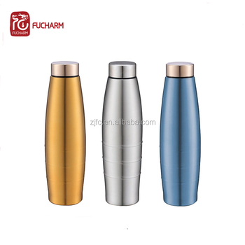 600ml magic bottle single wall fridge water bottles stainless steel vacuum insulated water bottles with high grade