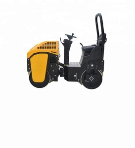 NVYL42A 0.9 TON Ride-on Light Compaction Equipment vibratory roller compactor mini road roller for sale