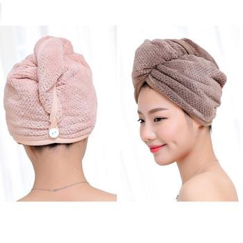 Wholesale Hair Drying Turban Cap Towel Microfiber Twist Hair Wrap Hoods -  Buy Hair Towel Wrap c366aaa05d3