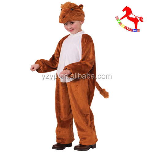 adult plush animal costume camel unisex plush halloween costumes for children