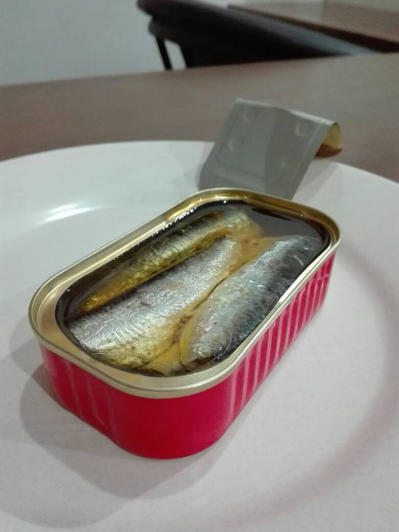 Best Quality and Low Price 125g Canned Sardine Normal in 100% Oil
