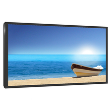 Factory price 98 inch super thin lcd monitor/tv screen for security use