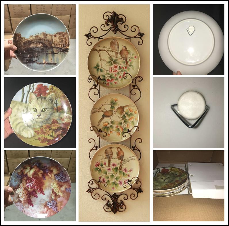 home decor 8 \u0027\u0027 pineapple pattern ceramic decorative pie plates plain ceramic plates & Home Decor 8 \u0027\u0027 Pineapple Pattern Ceramic Decorative Pie Plates ...