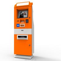 Cash payment kiosk with bill acceptor,card reader bill payment kiosk