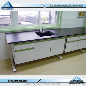 Used School Science Laboratory Equipment Marbel Lab Table