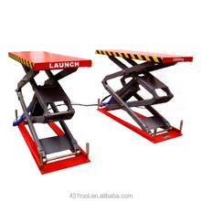 Launch TLT632A twin scissor car lift sound quality best price Car scissor lift Used auto scissor car lift