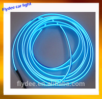 New plastic under car neon lights car kit with edge easy to fix