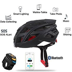 LIVALL 7in1 Bluetooth Smart Bike Helmet LED Tail Light Phone Call Music Player Camera Support APP by Green Box Design