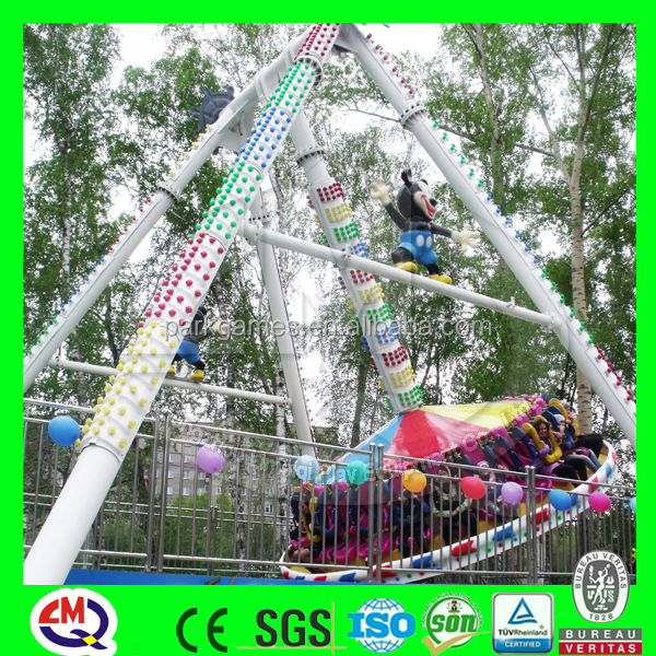 Fun child games amusement rides mini pendulum, outdoor play equipment for sale