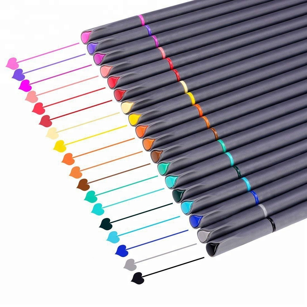 Smart Colored <strong>Pens</strong> for Bullet Journal Planner Fine Point <strong>Pens</strong> Fine Tip 0.4mm Drawing <strong>Pens</strong> Colorful Markers With 24 Colors
