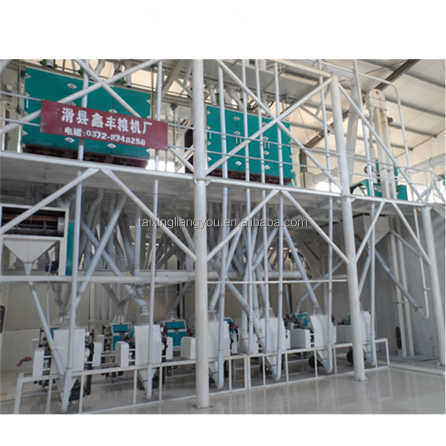High quality new wheat flour milling machine in india