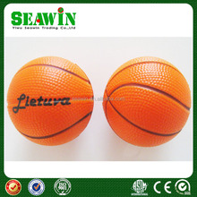 gift PU foam basketball anti stress toy basketball