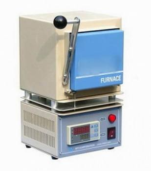 CE certificate 1800C Mini muffle furnace with MoSi2 heating element