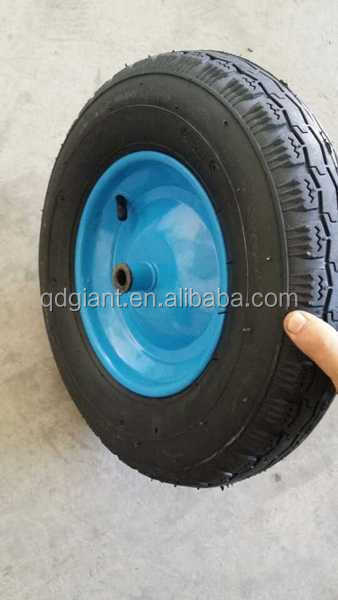 factory wholesale wheelbarrow wheel/small wheel/rubber wheel 400-8 350-8 300-6