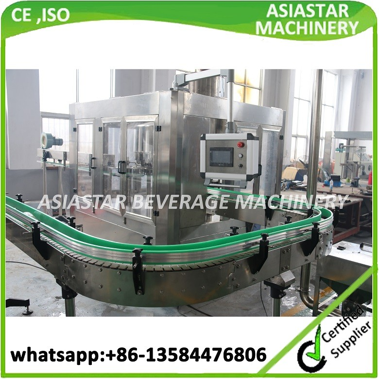 Fully Automatic pet bottle drinking water bottling plant / mineral water filling machine