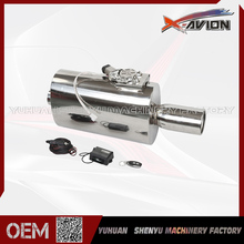 Elegant Design Adjustable Remote Controlled Unit Carbon Fiber Exhaust Muffler