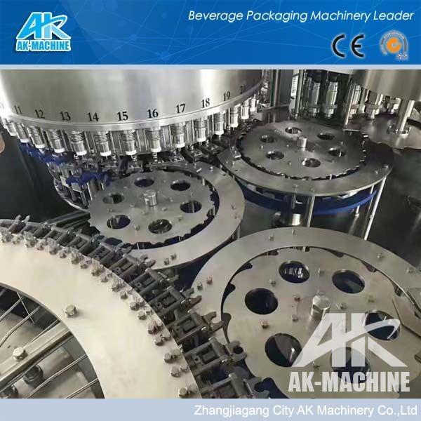 पूर्ण स्वचालित पालतू शुद्ध खनिज पानी तरल बोतल भरने वॉशिंग मशीन/rinser भराव/prodctioin लाइन/संयंत्र