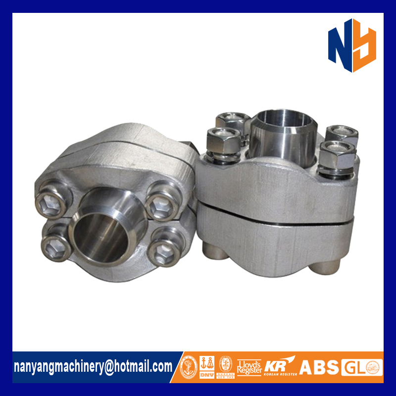 SAE flange UNF cylindrical thread flange with O-ring groove